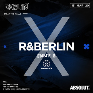Friday 13th March @ Berlin/Nicosia