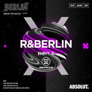 R&Berlin @ Berlin January 3rd