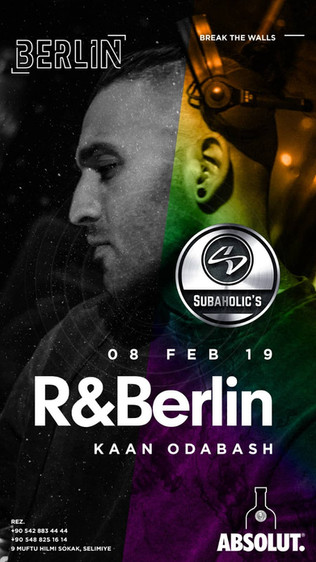 Subaholic's @ Berlin / Nicosia February the 8th!
