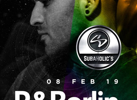 Subaholic's @ Berlin / Nicosia February the 8th!
