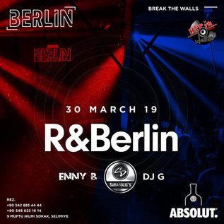 Subaholic's at @Berlin Saturday 30th March