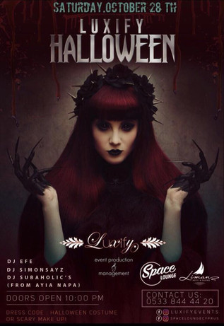 Halloween Madness 28th October