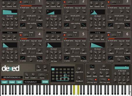 FREE VST! dexed - FM Plugin Synth
