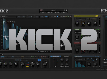 KICK 2 | Award Winning Kick Drum Synthesiser - Sonic Academy