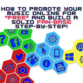 """HOW TO PROMOTE YOUR MUSIC ONLINE FOR """"FREE"""" AND BUILD A SOLID FAN-BASE STEP-BY-STEP!"""