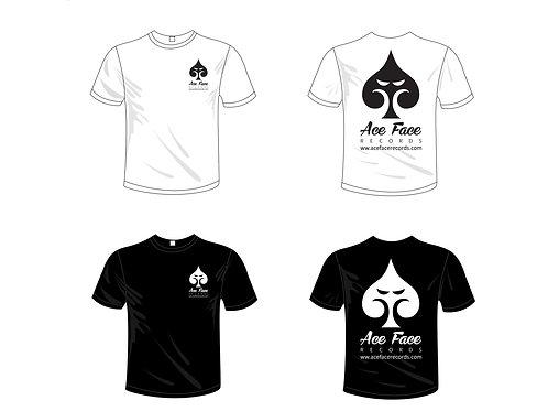 T-Shirt (White +Black)