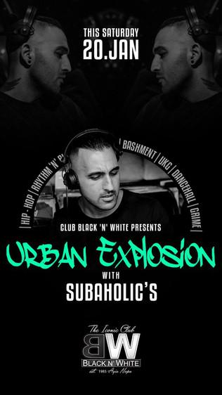 Subaholic's Urban Explosion