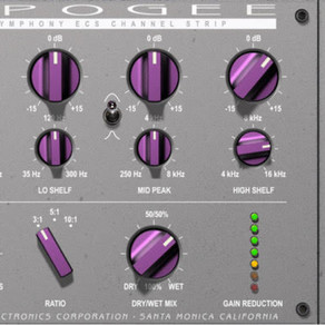 """APOGEE Announcing """"Symphony ECS Channel Strip"""" Plugin Tuned by Bob Clearmountain"""