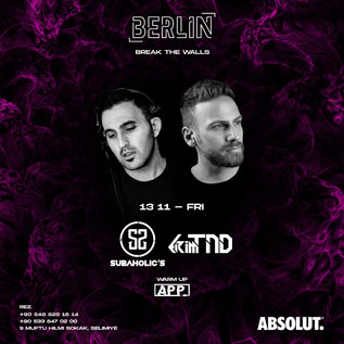 Subaholic's at @Berlin 13th November 2020