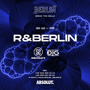 Subaholic's at @Berlin / Friday 30th Oct. 2020