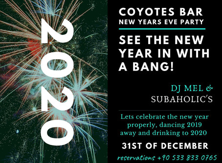 NYE at Coyotes/Kyrenia