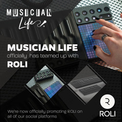 Musician Life teamed up with Roli