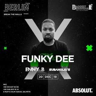 Subaholic's @ Berlin with Funky Dee / 20th December