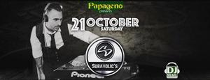 Saturday the 21st October at Papageno