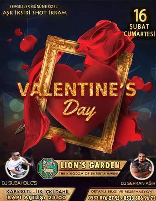Valentines Day Special @ Lions Garden