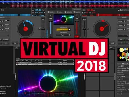 VirtualDJ 2018 Beta: Videoskins + Shaders, Scratch Automation, Direct Video Streaming