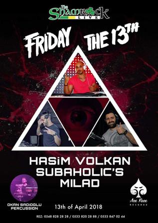 Friday The 13th! @ Shamrock Live