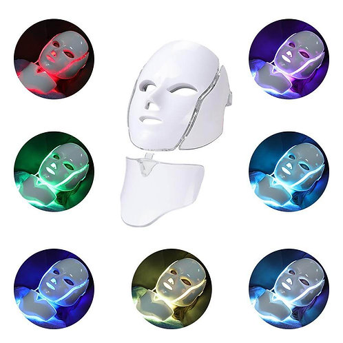 Tinkable LED Face and Neck Mask