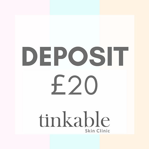 Tinkable Skin Appointment Deposit