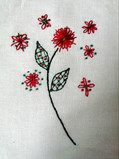 Ginn Downes - Hand embroidery