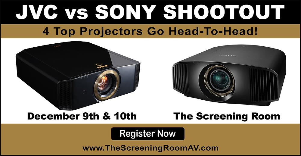 Sony vs. JVC 4K Projector Shootout