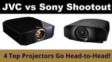 Our JVC vs. Sony 4K Projector Shootout Results Are In - Read All About It!