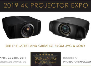 Results From Our April 2019 Sony and JVC 4K Projector Expo / Shootout Event!