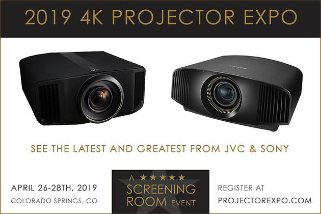 Results From Our April 2019 Sony and JVC 4K Projector Expo / S