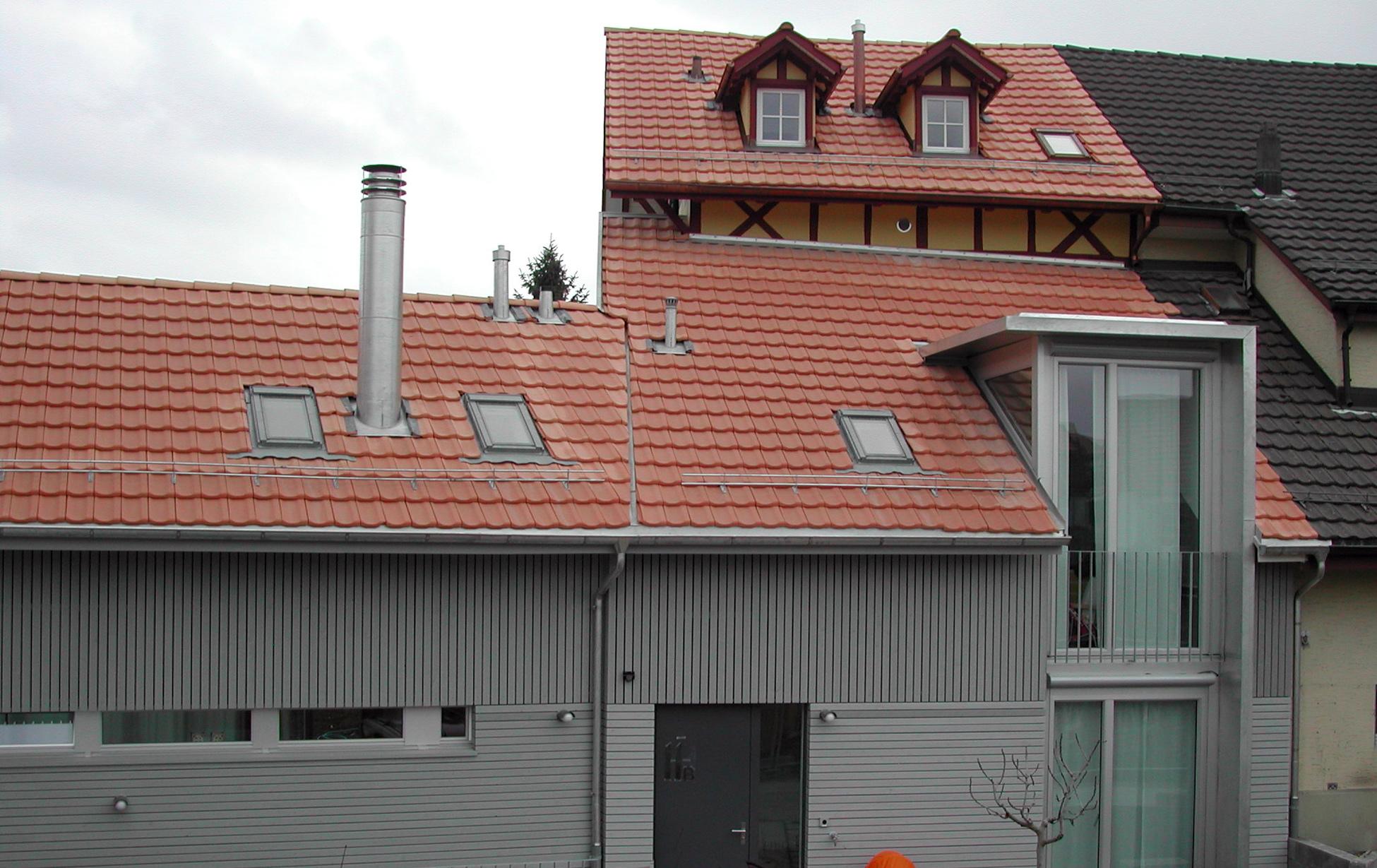 Umbau und Ersatzneubau, Thalwil