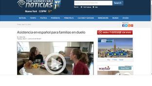 Grief Services for Spanish Speaking Families Launched/Asistencia en espanol para families en duelo