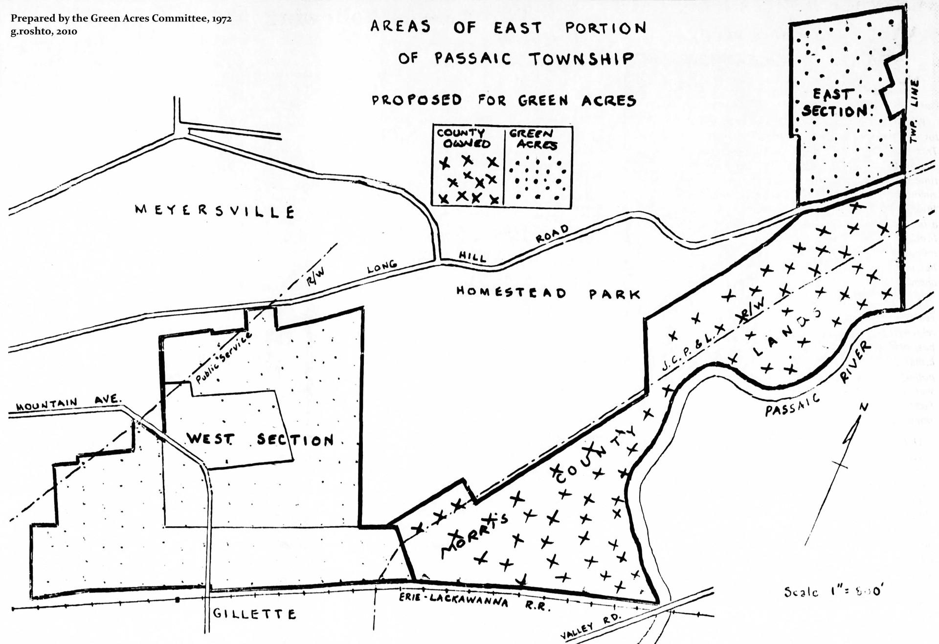 1972 Planning Map