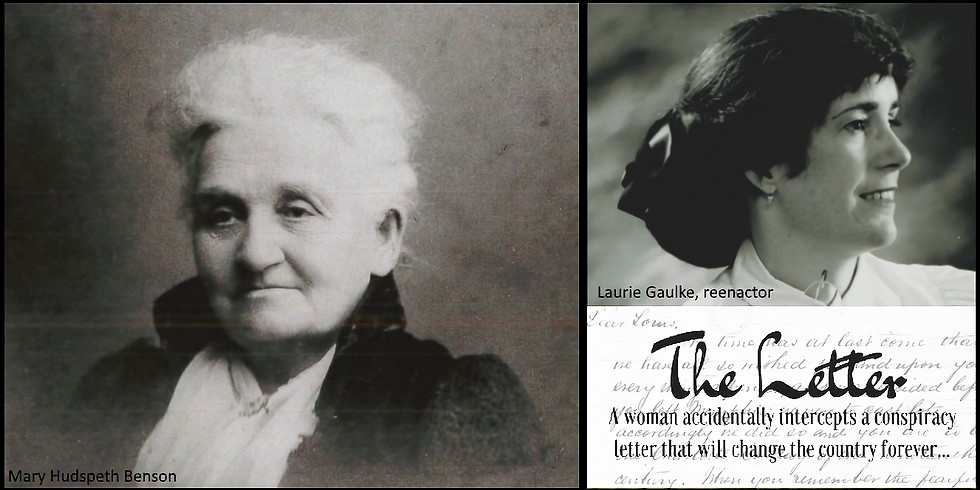 The Letter - A women accidentally intercepts a Lincoln conspiracy letter
