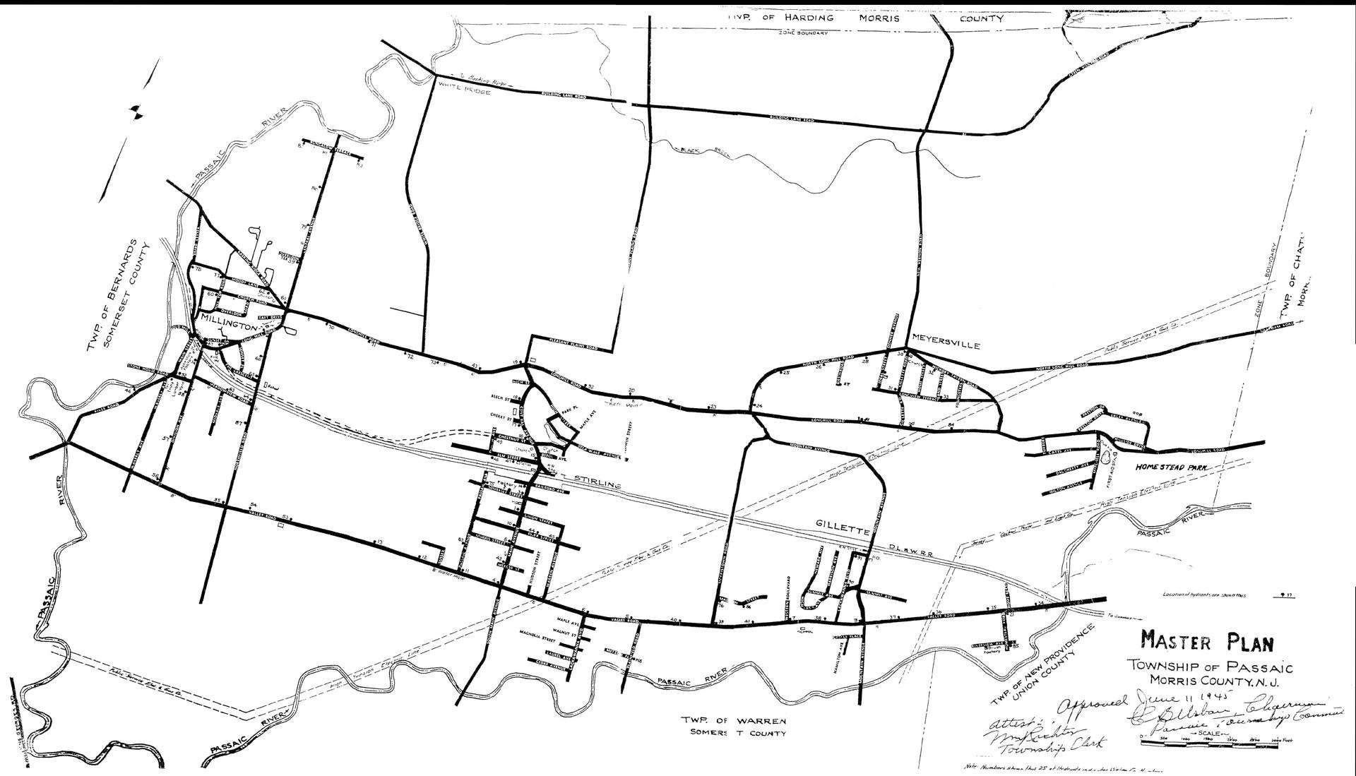 1947 Planning Map