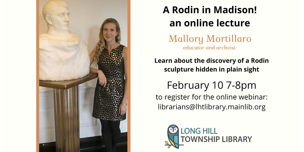 A Rodin in Madison: Discovery of a Masterpiece