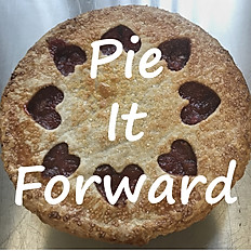 "6"" PIE IT FORWARD"