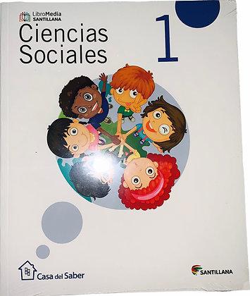 Ciencias Sociales 1 Santillana
