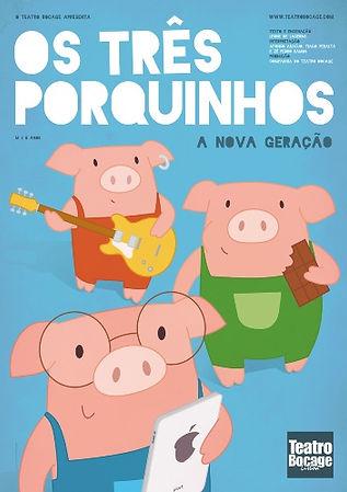 Os Três Porquinhos Teatro Bocage