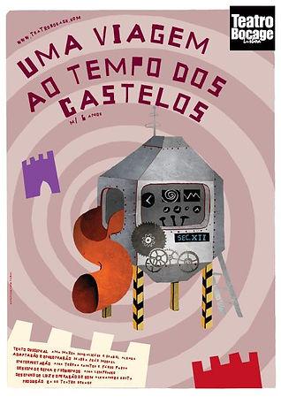 Uma Viagem ao Tempo dos Castelos Teatro Bocage