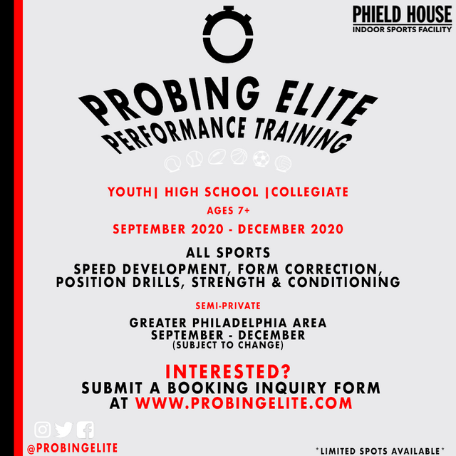 Probing Elite Preformance Training- Phield House