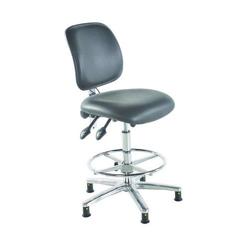 Medium Back Vinyl ESD Draughtsman Chair
