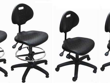 Polyurethane Draughtsman & Factory Chairs