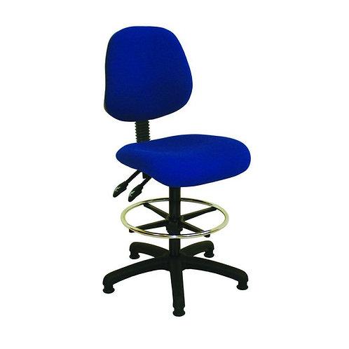 Medium Back Fabric Draughtsman Chair
