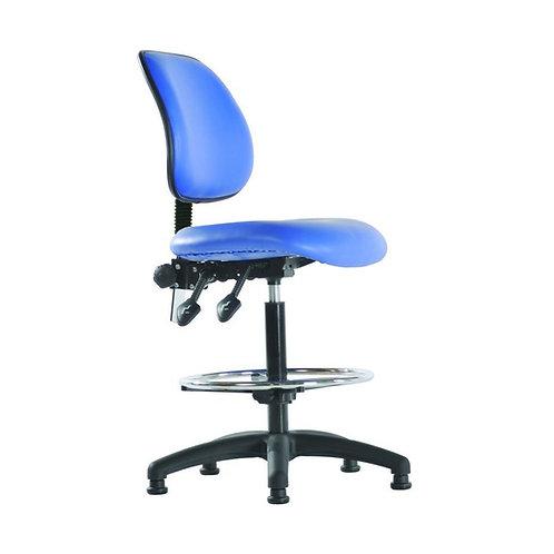 Medium Back Vinyl Draughtsman Chair