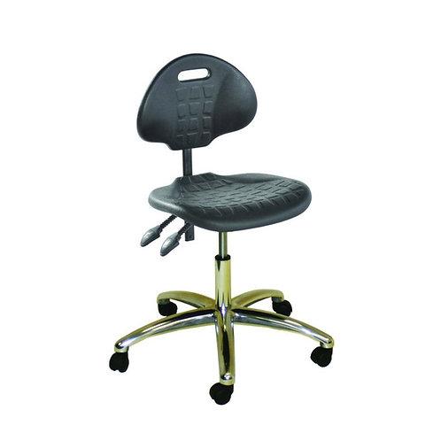 Polyurethane Chrome Factory Chair