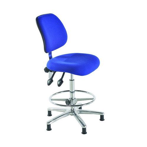Medium Back Fabric ESD Draughtsman Chair
