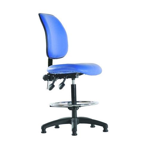 High Back Vinyl Draughtsman Chair