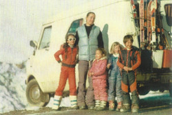 Camping sauvage en famille