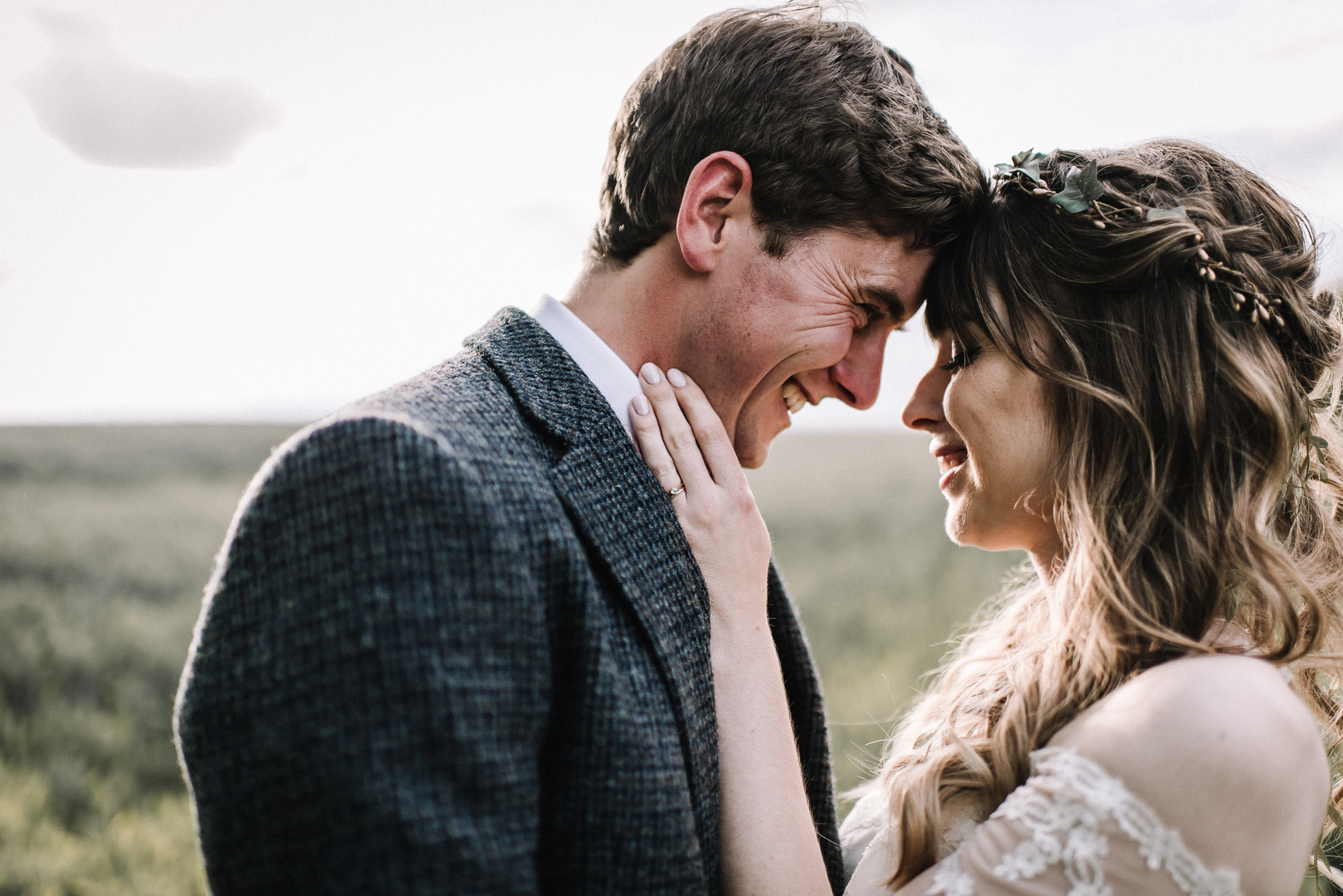 Sarah & Charlie's DIY Woodland Themed Wedding @ Lyde Court