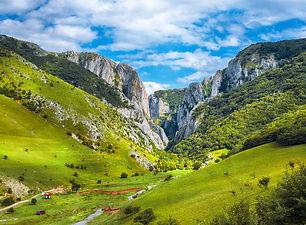 Turda gorge Cheile Turzii is a natural r