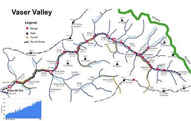 Mocanita map